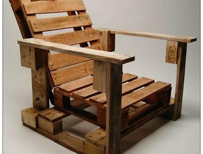Bureau Bois Recup : Bureau rustique palette bois les choses simples
