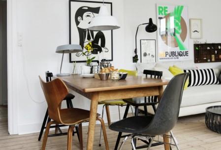 Mismatched Chairs Chaises Depareillees Tendance Deco Chaise Decolier