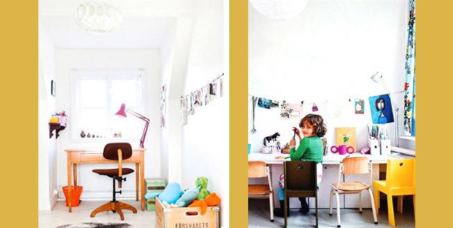 déco-chambre-enfant-bureau - Les choses simples