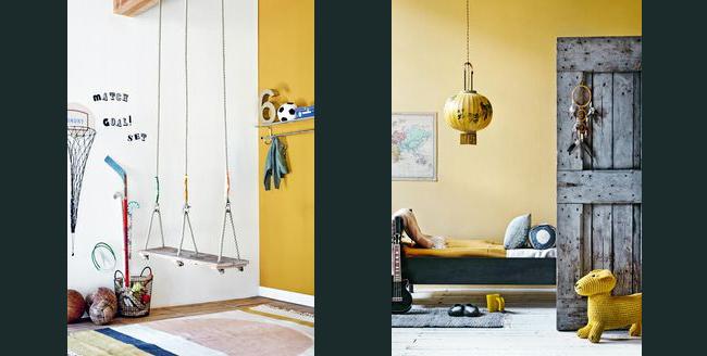 déco-chambre-enfant-jaune - Les choses simples