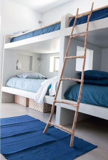 inspiration bord de mer. Black Bedroom Furniture Sets. Home Design Ideas