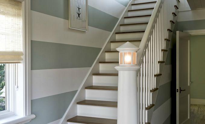 Inspiration d co bord de mer for Peindre dans un escalier