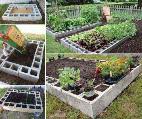 Diy astucieux pour am nager son jardin potager for Organiser son jardin