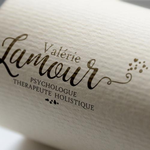 Identité visuelle Valérie Lamour