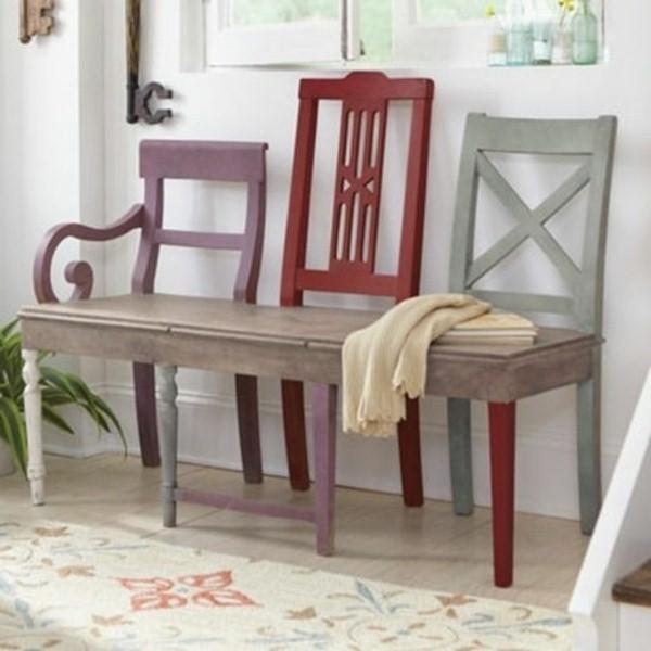 banc-de-jardin-fait-chaises - les choses simples