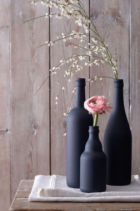 DIY recycler ses bocaux et bouteilles en verre